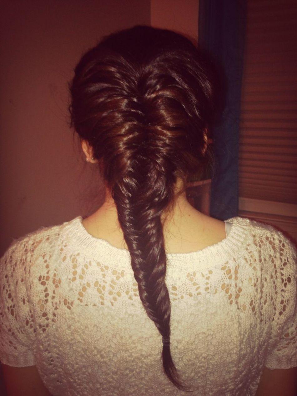 How I did Sarah's hair