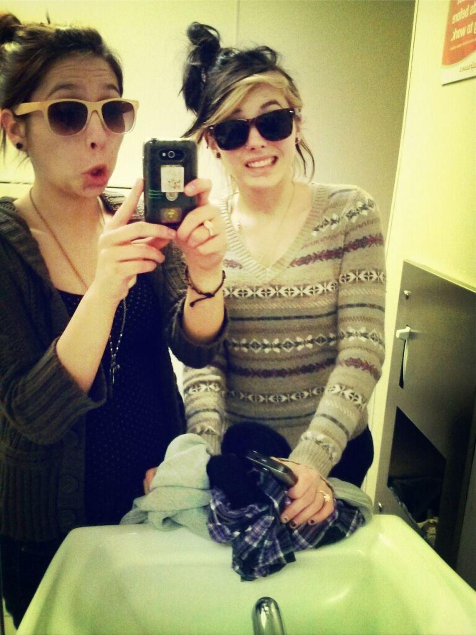 With The Best Friend, Biiiiitch!(;