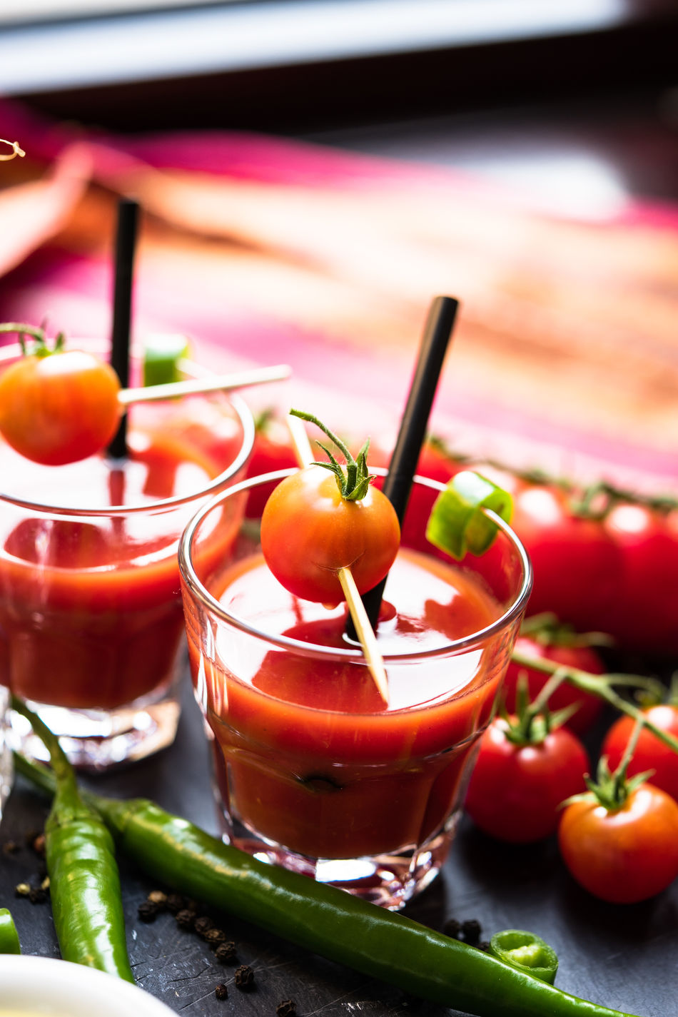 Beautiful stock photos of healthy eating, Cherry Tomato, Close-Up, Cocktail Stick, Day