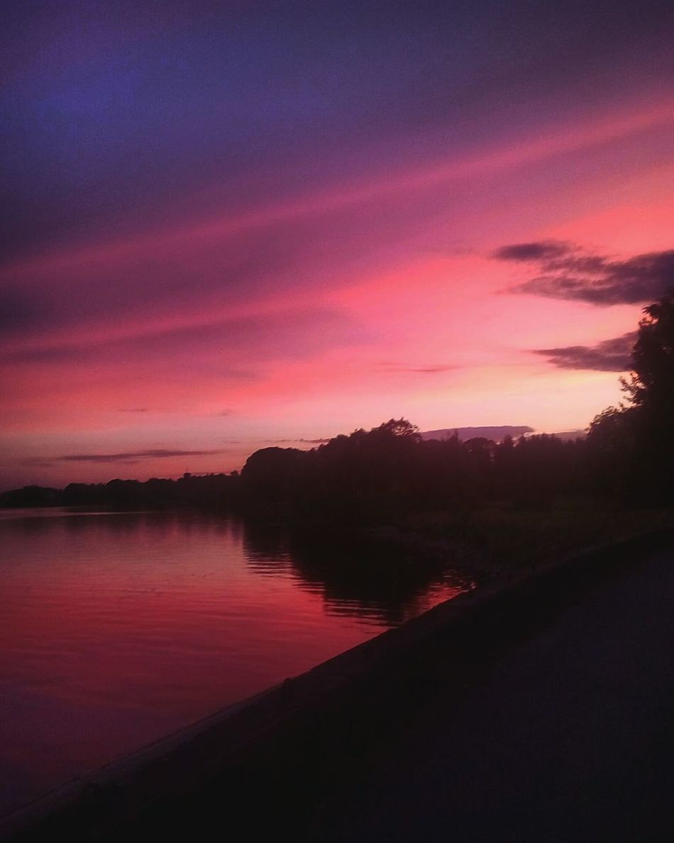 пейзаж и природа река закат🌇 красота влюбилась мойгород First Eyeem Photo