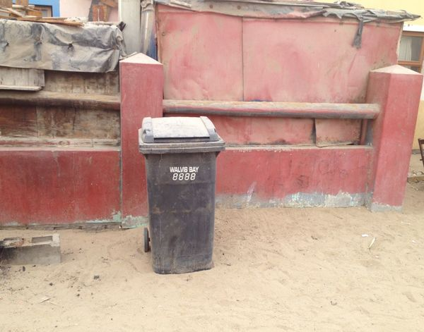 Walvis Bay Namibia Shanty Town Litter