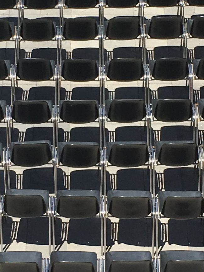 Chairs Black Colour Black Chairs Pattern Pieces Showcase June Color Palette Beautifully Organized Flying High The Portraitist - 2017 EyeEm Awards