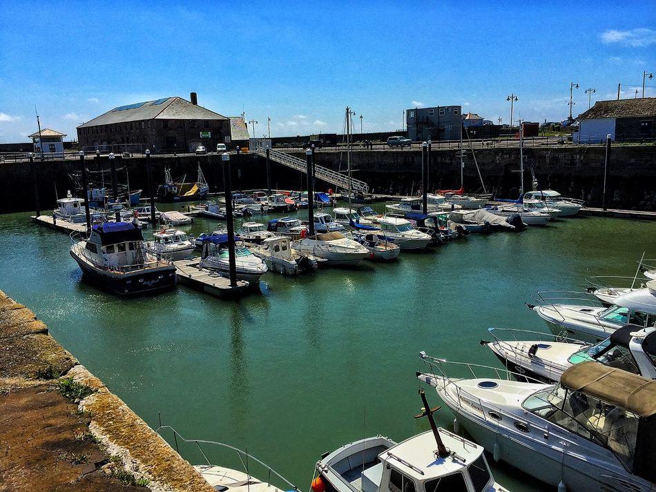 Fresh Air Enjoying The Sun IPhoneography Harbour