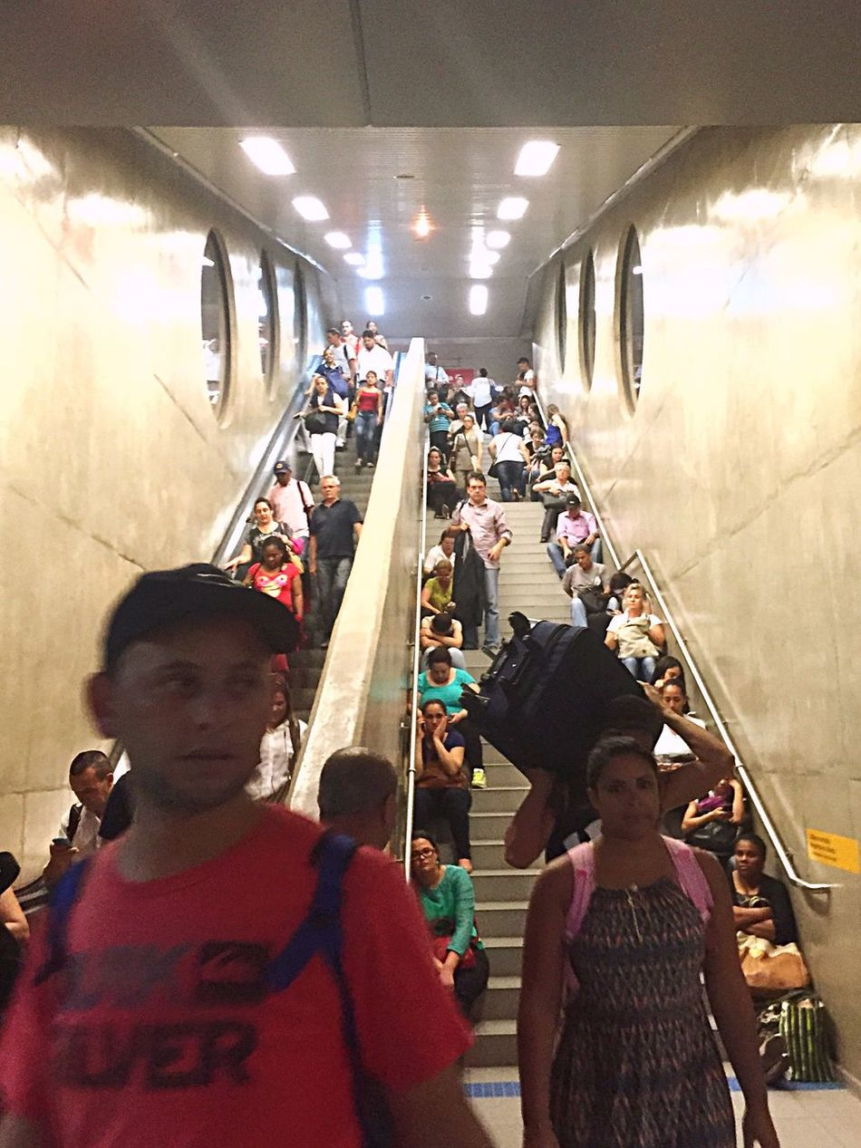 Untold Stories Public Transportation Subway Chaotic Rush Hour