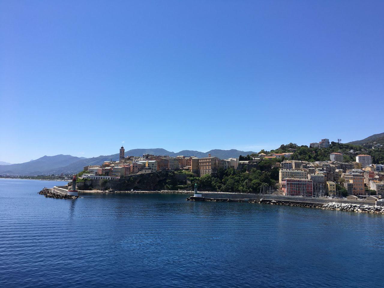 Bastia Citadelle Vieux Port Mer Corse
