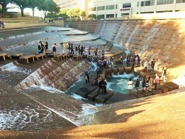 Fort Worth Water Gardens Eyeem