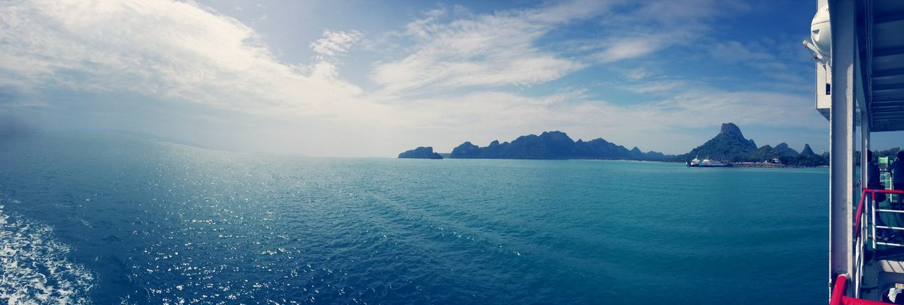 Beautiful stock photos of thai, Beauty In Nature, Boat, Cloud - Sky, Cloudy