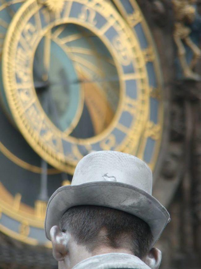 Prague Astronomicalclock Praga Streetphotography Street Artist Summer In Europe