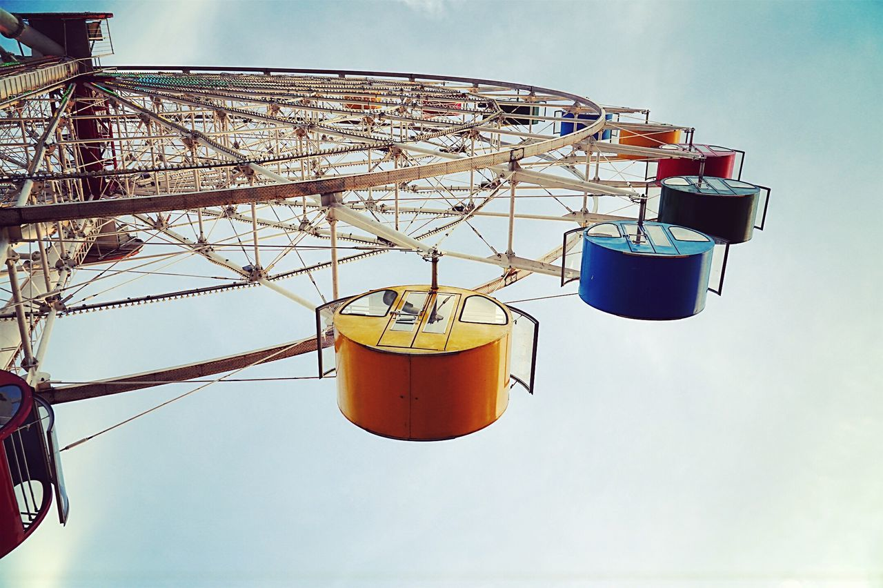 Pastel Power Ferris Wheel Looking Up Amusement Parks From My Point Of View Getting Inspired Taking Photos Hanging Around