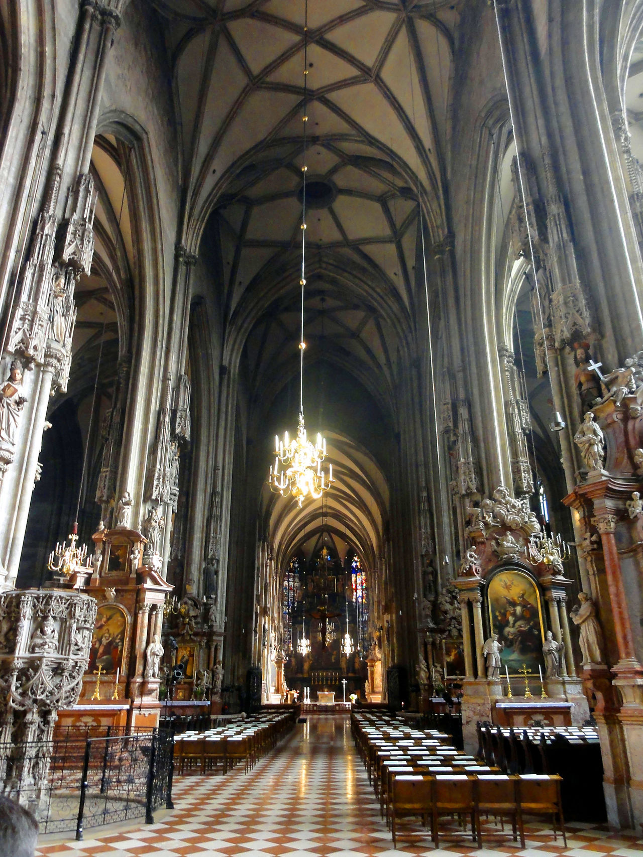 Chatedral interior, Vienna Architecture Art Catedral Church Europe Trip History Place Of Worship Religious Architecture Religious Art Travel Travel Destinations Travel Photography Vacation Destination Vienna Wien