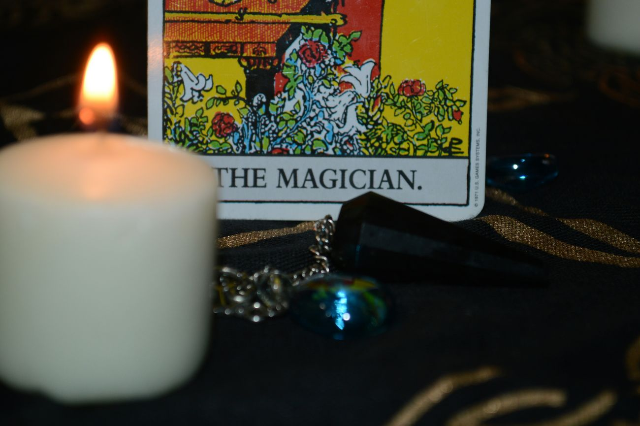 Candle Light Candle Production Artist Dreamer Magic OutLaw Tarot Card Tarot Magician Fortune Telling
