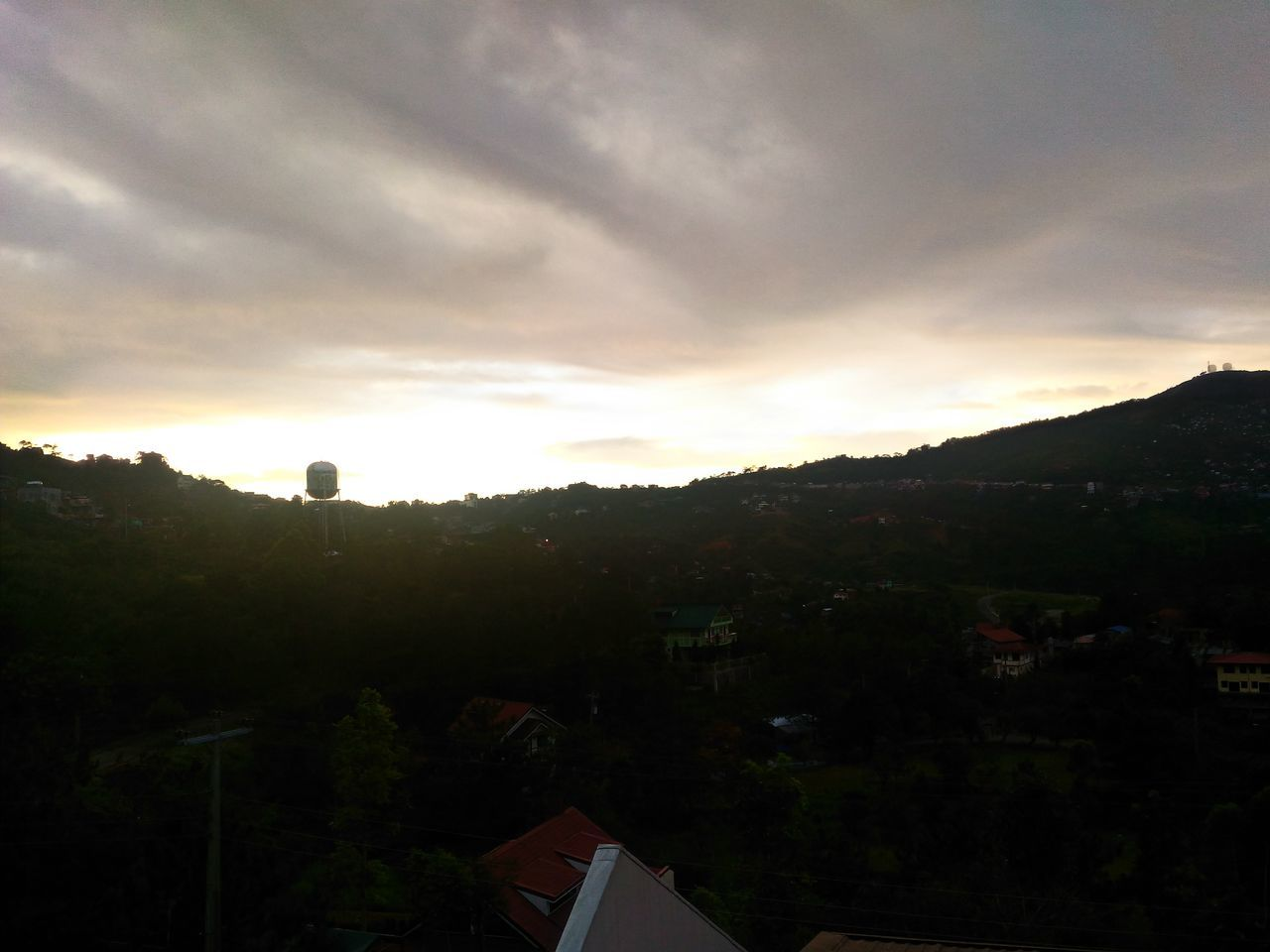 Architecture Baguio City Beauty In Nature Built Structure Cloud - Sky Day Landscape Mountain Nature No People Outdoors Scenics Sky Sunrise Sunset Tranquility Tree