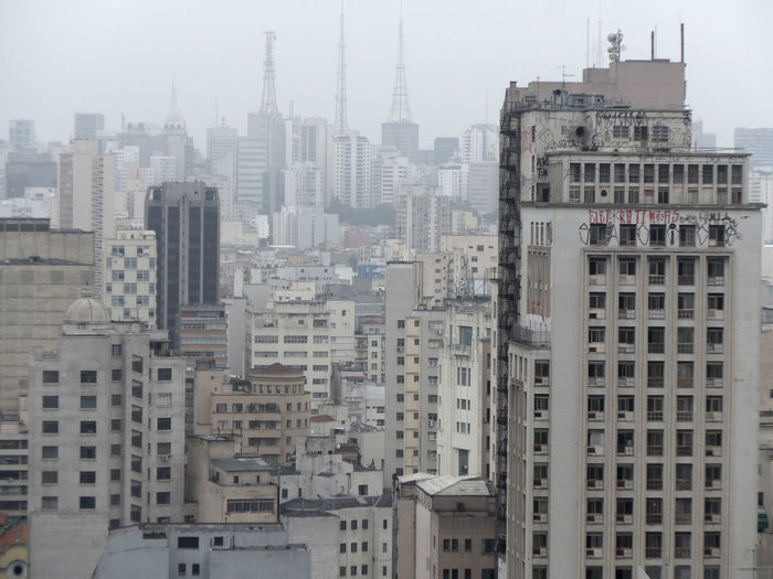 Abonded Buildings Architecture Built Structure City City City Center City Skyline Cityscape Cityscape Density Grey High Rise Building Sao Paulo - Brazil São Paulo Tall - High Urban Structures