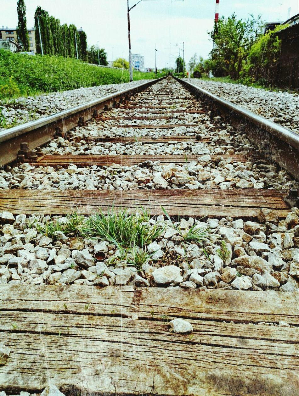 Rails Railway Railroad Track Nature City 😍❤️