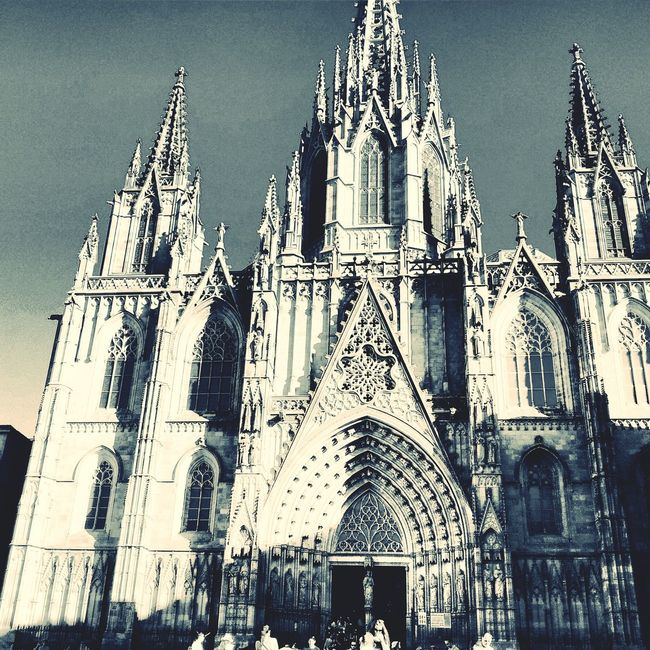 Cathedral Taking Photos Architecture City Old Buildings Getting Inspired Hello World Barcelona, Spain Popular Photos Structures made when i visited Spain in summer.😎😎😎