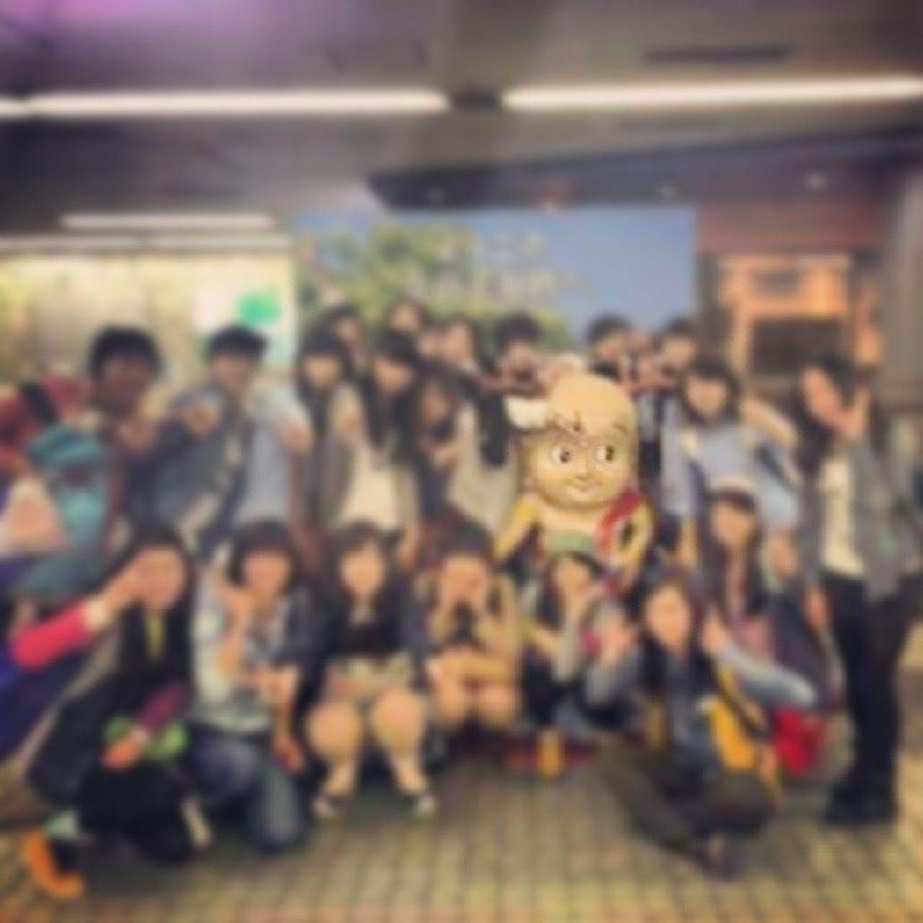 明日は京都! 1年前は奈良行ったなぁ~ 明日早起きがんばらな! 奈良 せんとくん ひねぎゃ 郊外学習