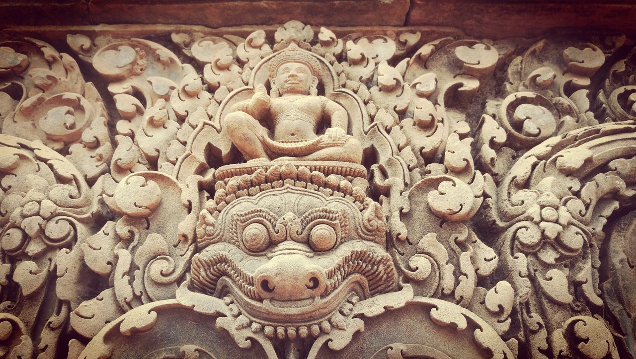 Details.. Close-up Sculpture Travel Travelphotography Architecture Travel Photography Focus On Details Buddha Buddhist Temple Temple Stone Stone Carving Carvings In Stone No People Backgrounds Details Details Textures And Shapes The Architect - 2017 EyeEm Awards