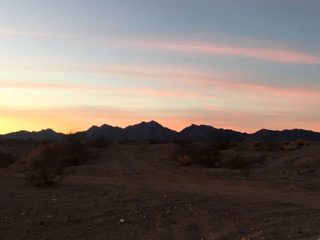 Landscape Sunset Scenics Geology Arid Climate Outdoors No People Mountain Sky Desert Beauty