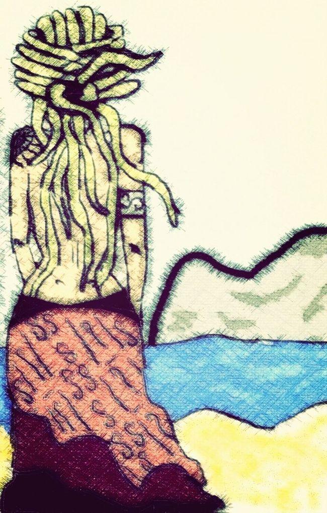 Art Desenho Dreadlocks Girls Dreadlocks Girl