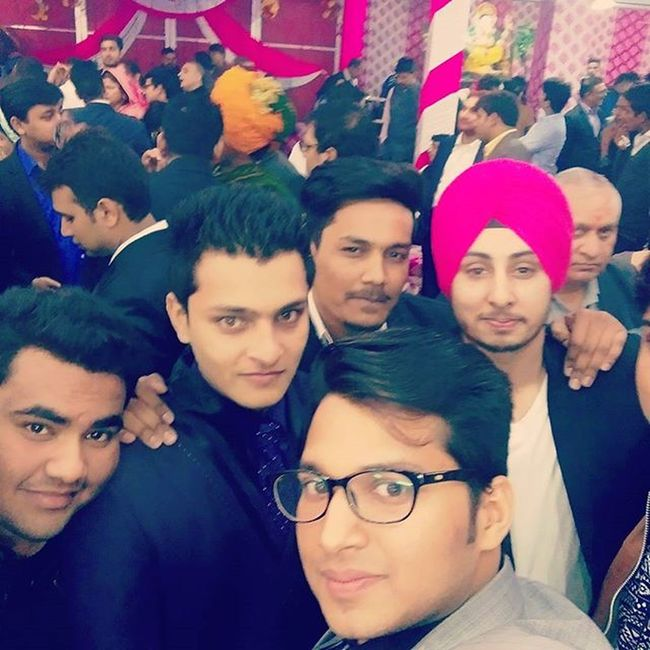 Bromance Weddingseason happyness is meeting brothers after a long time n remembering beautiful memories ....