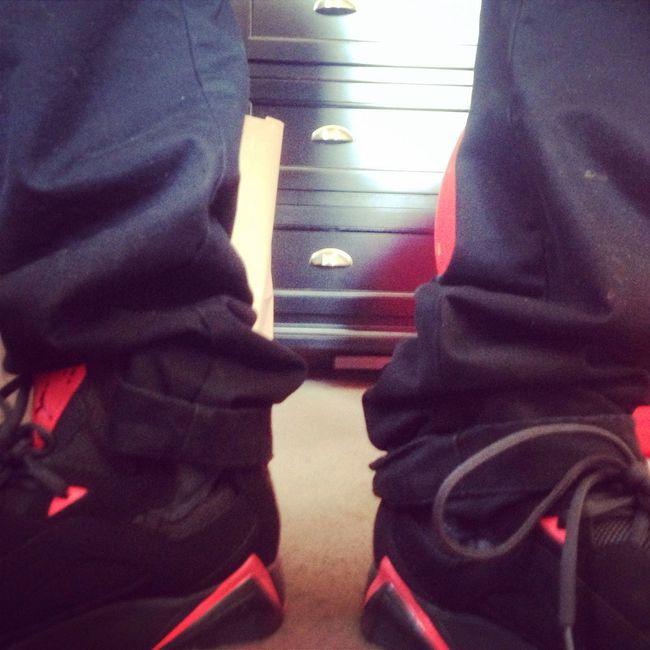 Got me some brawn new Jordan's from wakeupnow! Hublife WUN