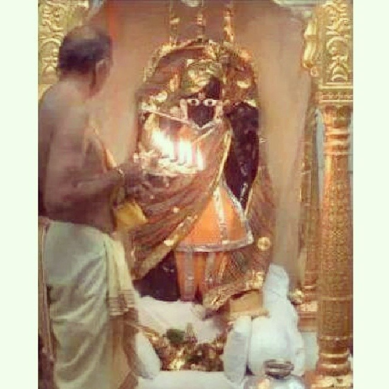 Ranchhodrai Manglaaarti Dakor Mandirtime pray
