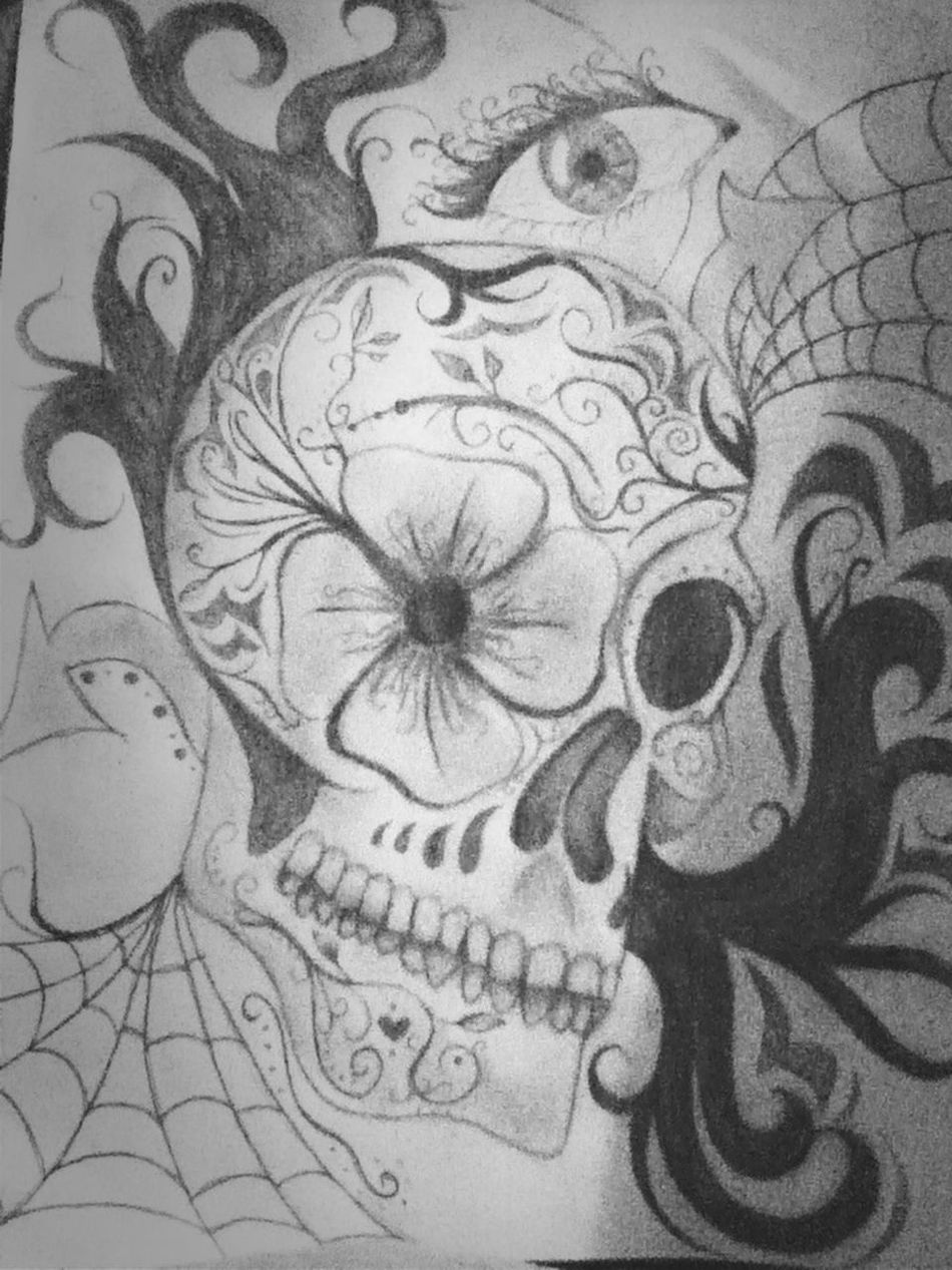 #sugarskull #drawing #hobby #fun #andstuff