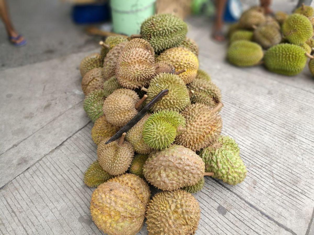 No People Outdoors Day Nature Food Close-up Freshness Durian Davao Kadayawan