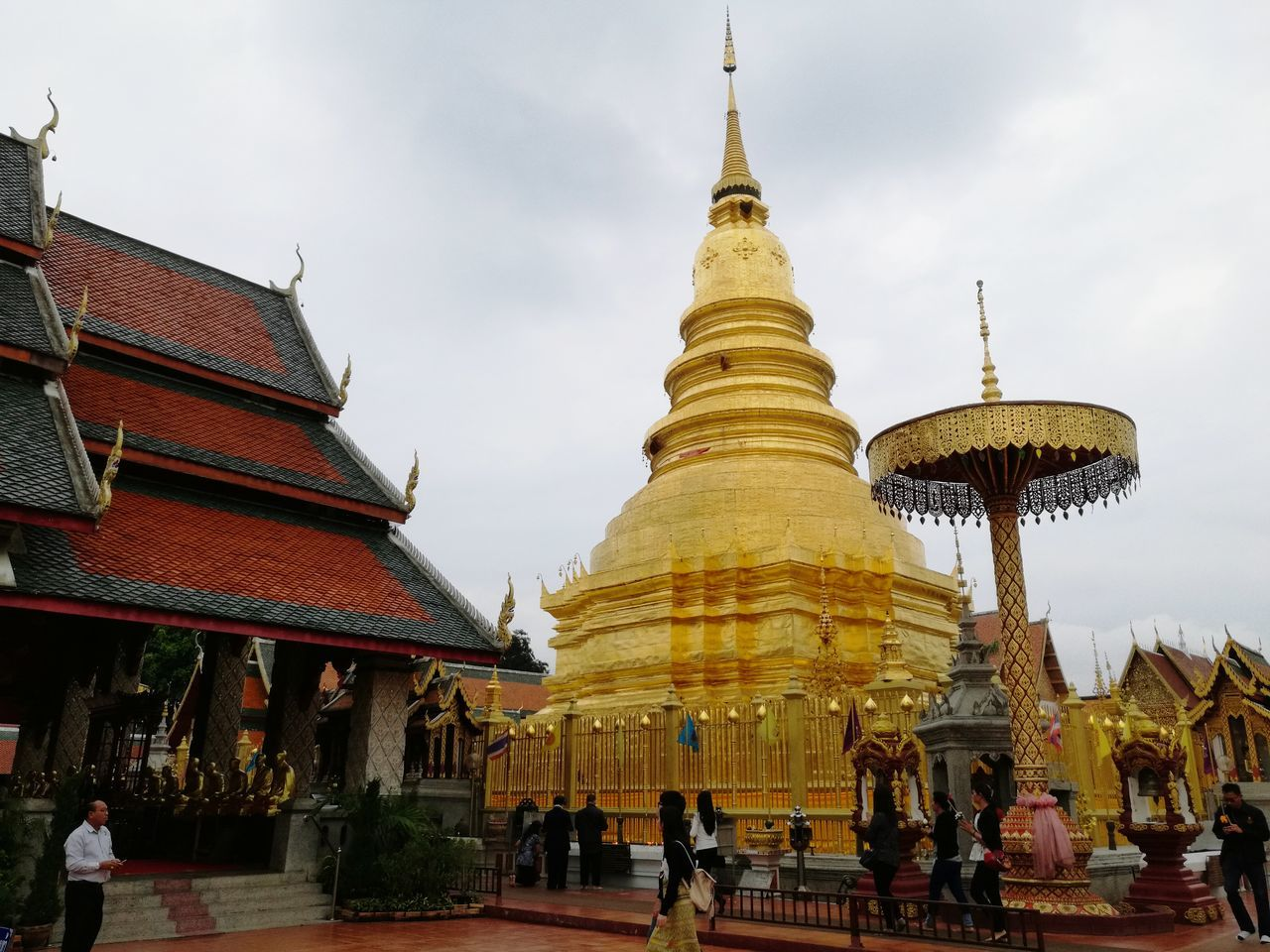 Religion Pagoda Place Of Worship Gold Colored Spirituality Architecture Travel Cultures People Outdoors Place Of Worship Landmark Temple History Architecture Gold Pagoda Spirituality Travel Textured  Thailand Statue Tradition Vacations Textured