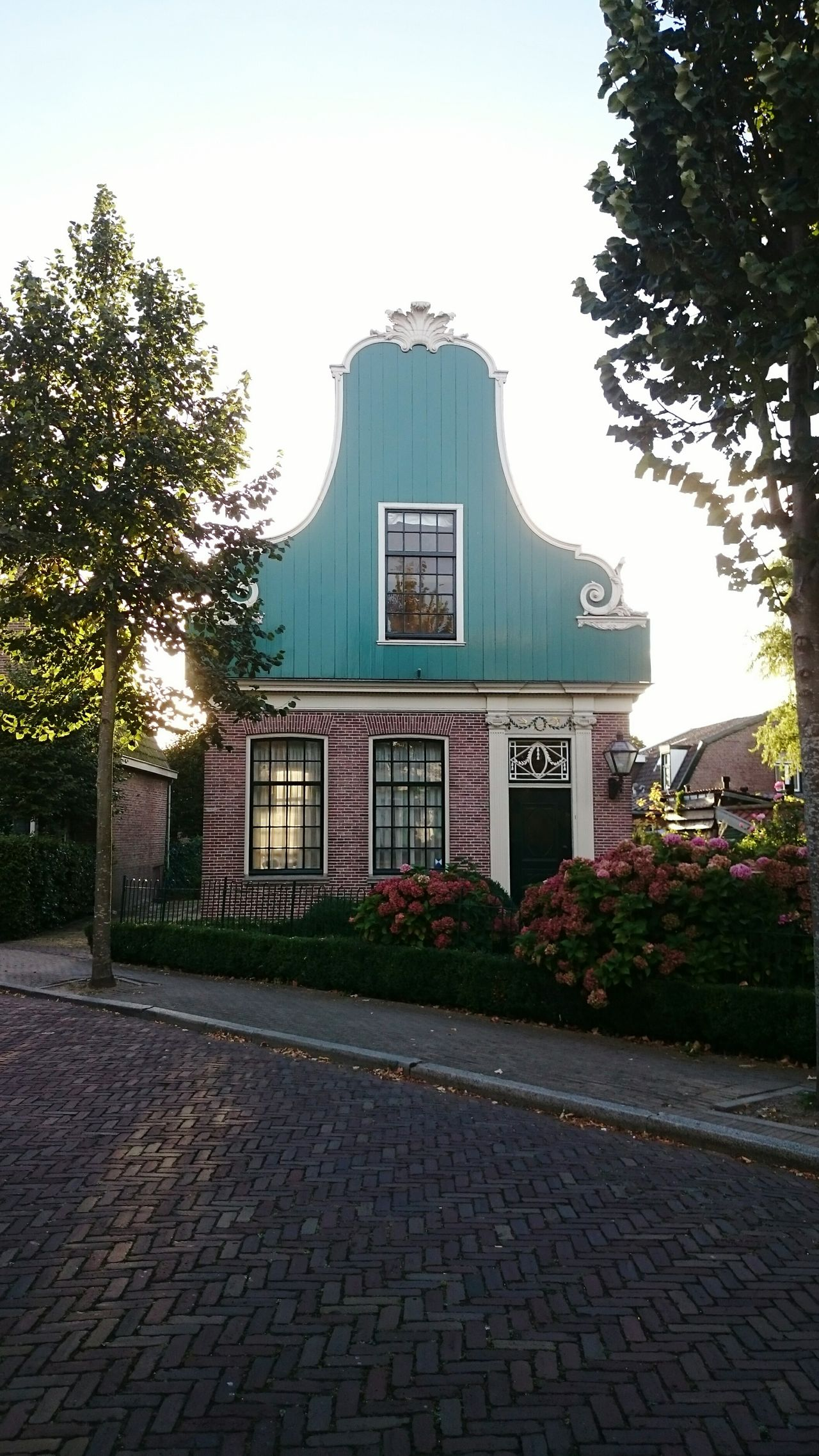 Architecture No People Building Exterior Day Built Structure Tree Outdoors Zaanseschans Netherlands Dutch House Dutch Architecture Sunrays Through The Window