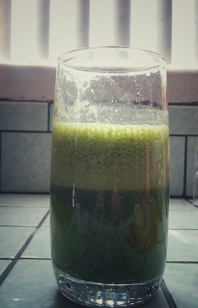 Freshly Made Green Juice Green