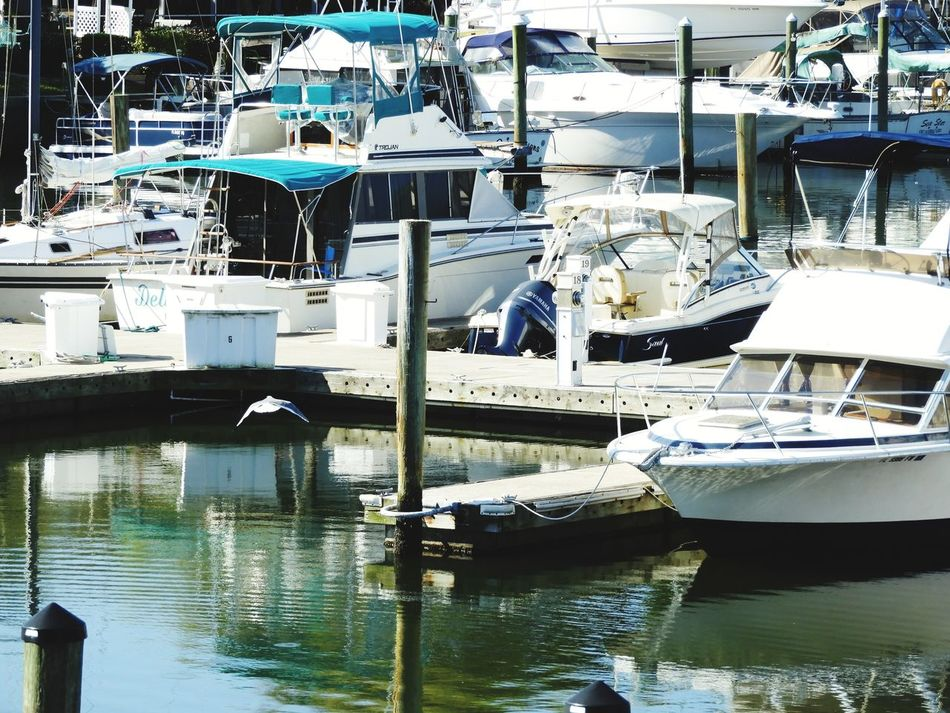 Reflection Water Moored No People Day Nautical Vessel Industry Close-up Outdoors Boats Harbor Boat Dock Boats⛵️ EyeEmNewHere The Week Of Eyeem The Week On EyeEm