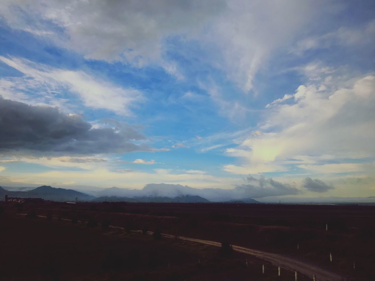 landscape, cloud - sky, sky, nature, no people, scenics, beauty in nature, tranquility, outdoors, day, rural scene