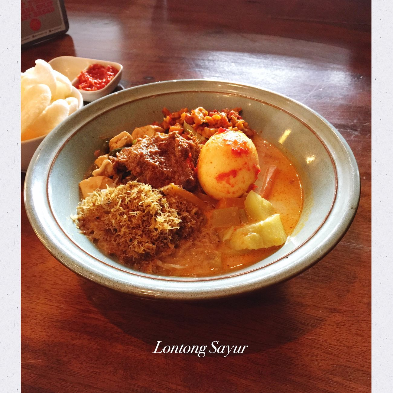 Lontong Sayur - Warung 100 Hari (Urban Kitchen) Foodgasm Foodporn Food Indonesianfood Traditional