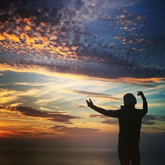 Bodrum, Turkey Gündoğan Turkey Sunset #sun #clouds #skylovers #sky #nature #beautifulinnature #naturalbeauty #photography #landscape That's Me Hello World Sky Amazing Sunset Gunbatimi
