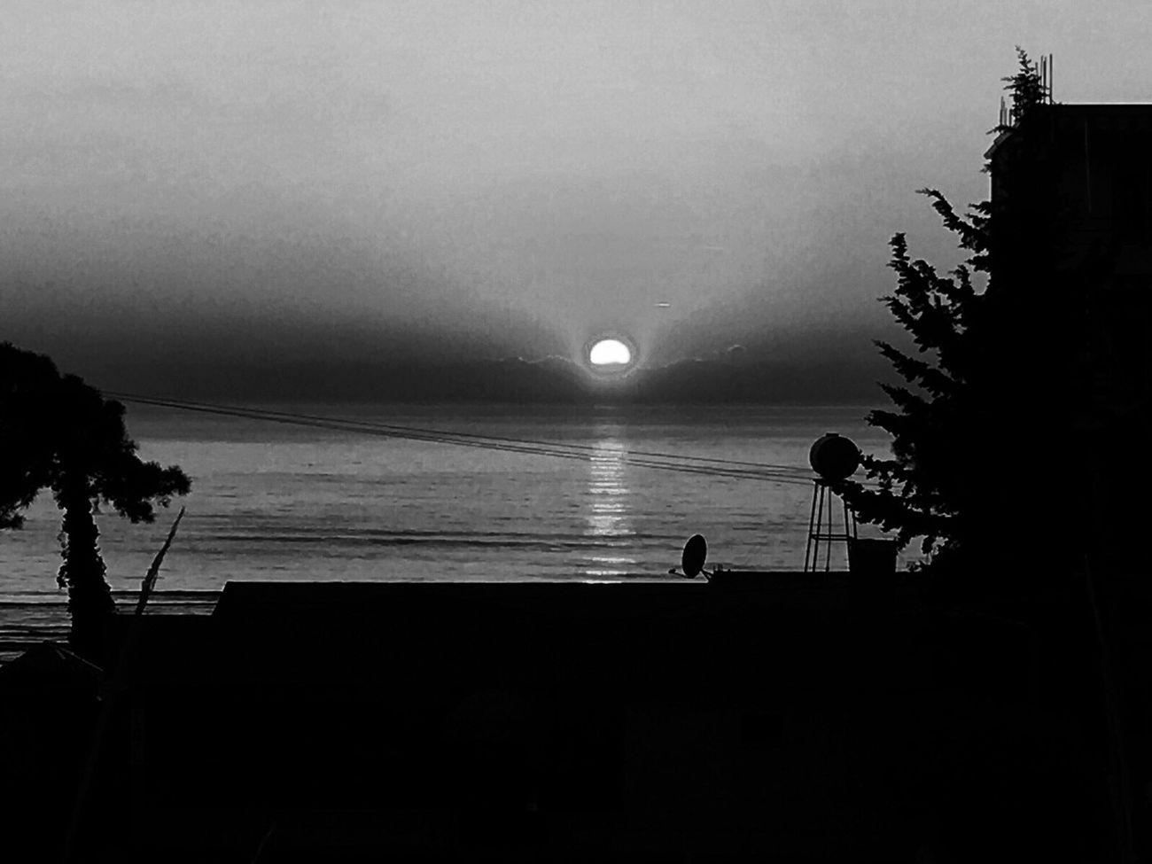 Bw Blackandwhite Moonlight moon Mycity Durres
