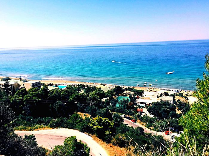 Sea Sea Horizon Over Water Water Blue Beach Clear Sky Scenics Tranquility Tourism