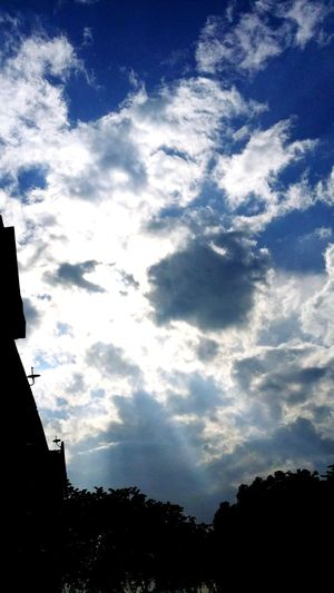 Majestic Clouds Blue Sky Apartment