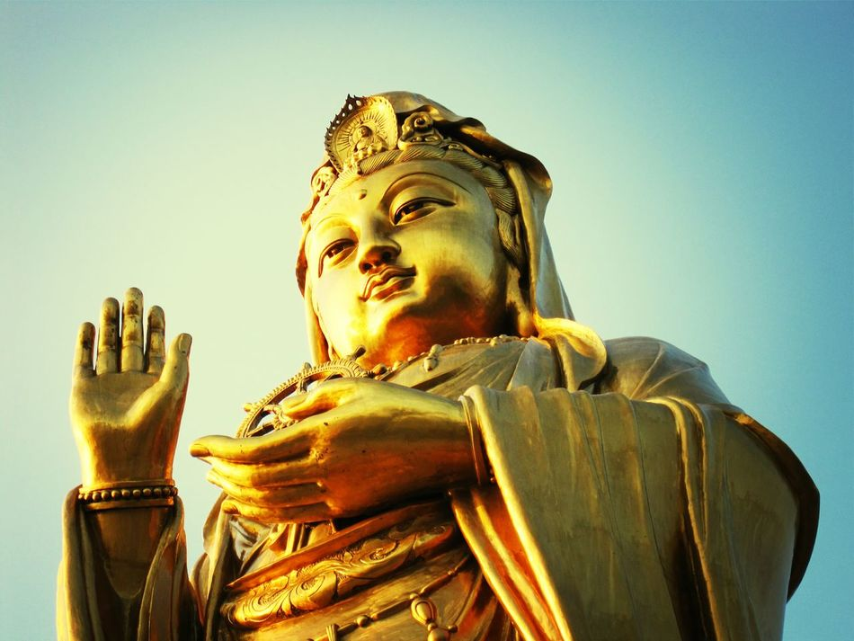 Beautiful stock photos of gold, Auto Post Production Filter, Blue, Budda, Clear Sky