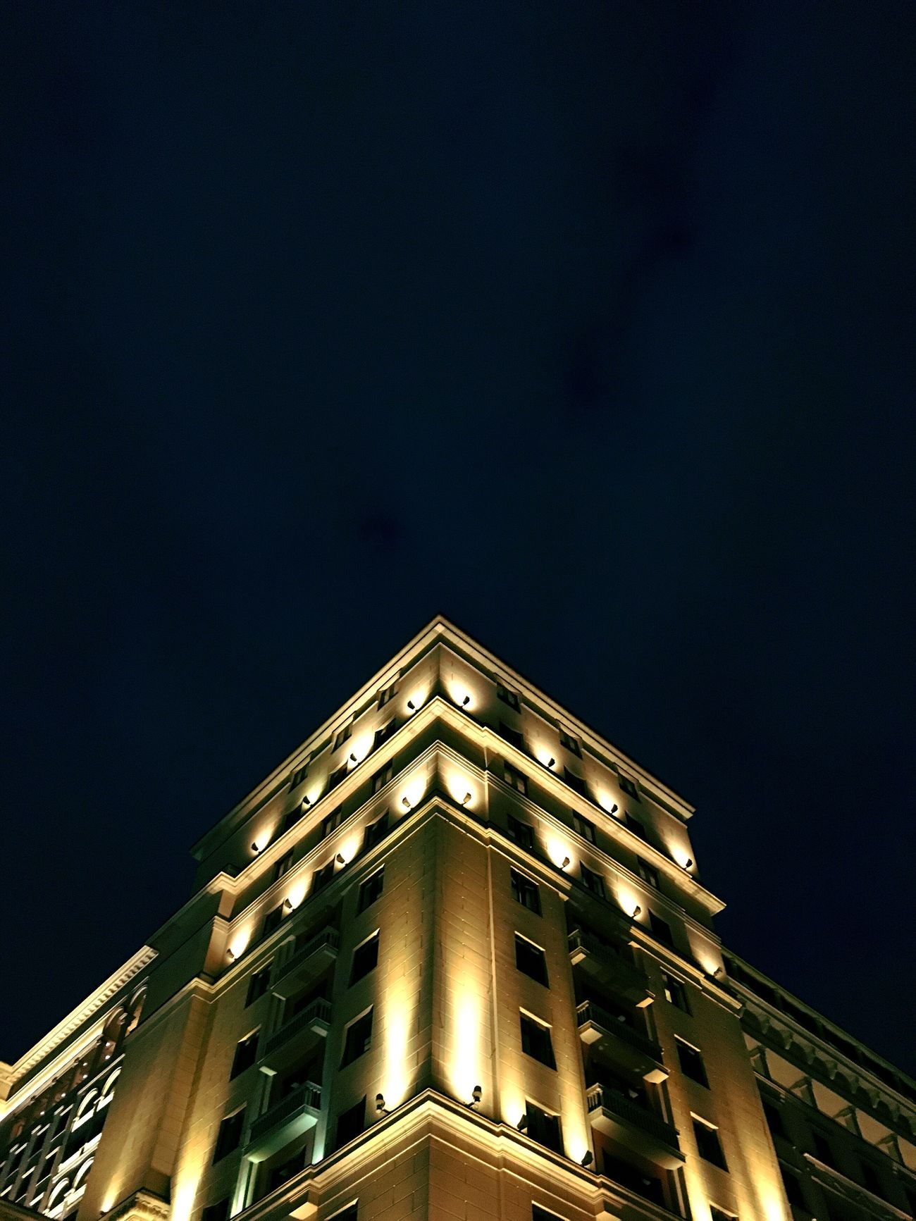 Moscow Msk City City Life Bulding Architecture Light Lights Night IPhoneography