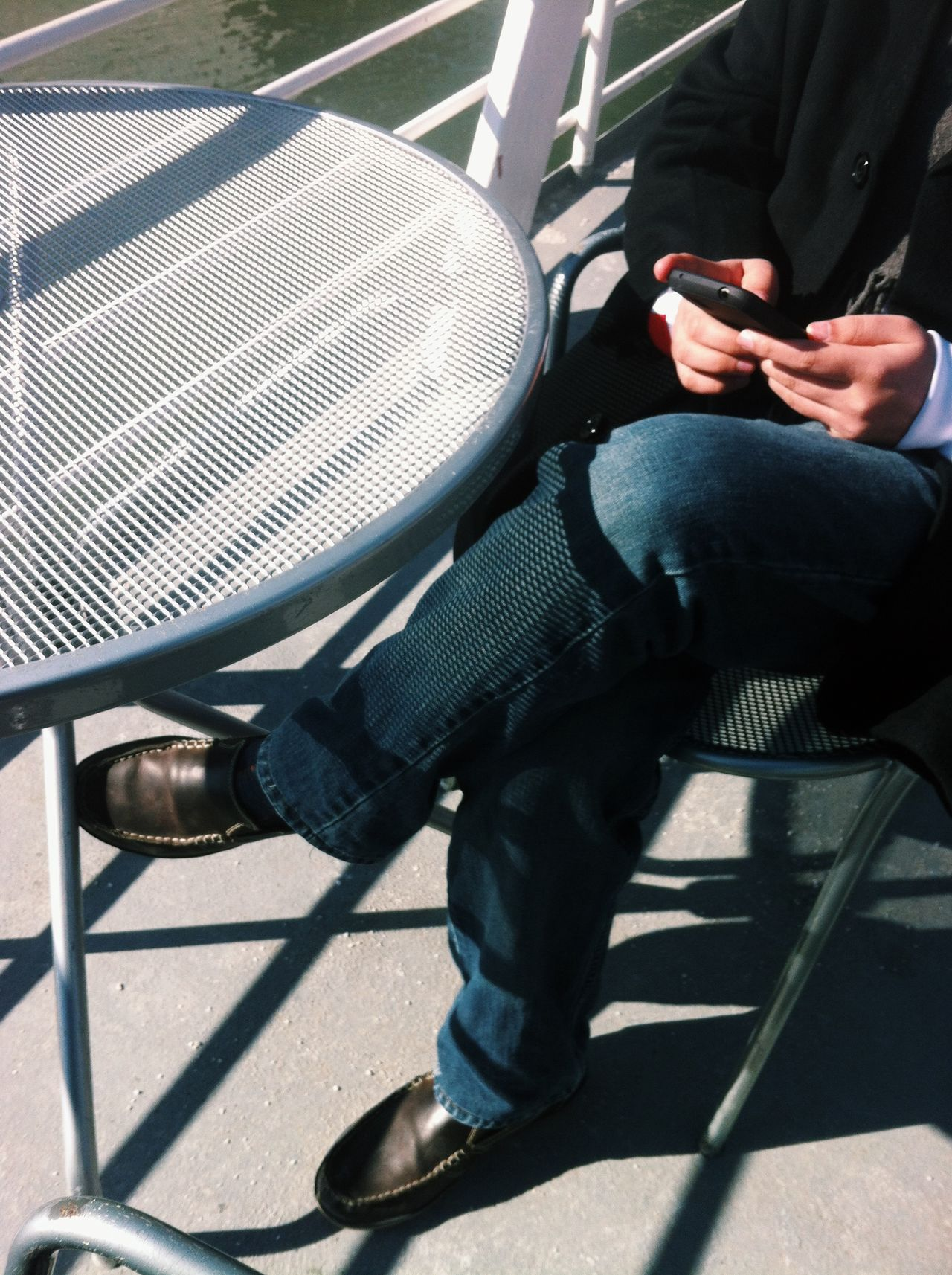 Beautiful stock photos of text message, Casual Clothing, Chair, Day, Front View