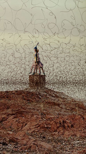 Photographic Approximation The Death Of Aral Sea Locust disaster...