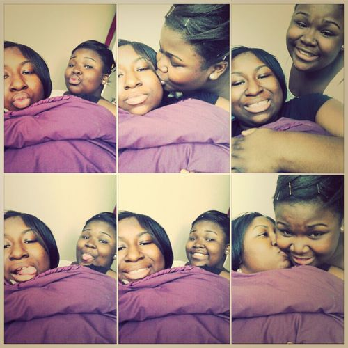 She's all I got in this world of sin my everything my little sister it's just us I love my sister