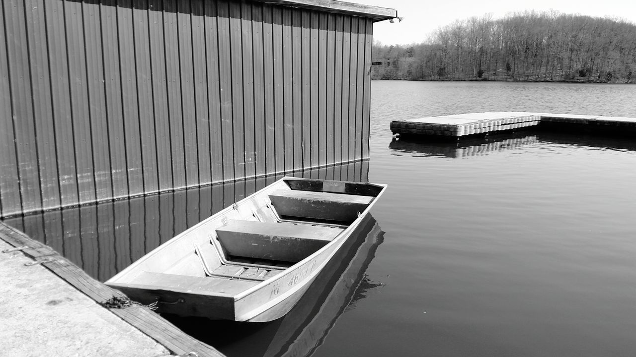 Outdoors Water No People Day Nature Sky Boat Dock Boat EyeEmNewHere