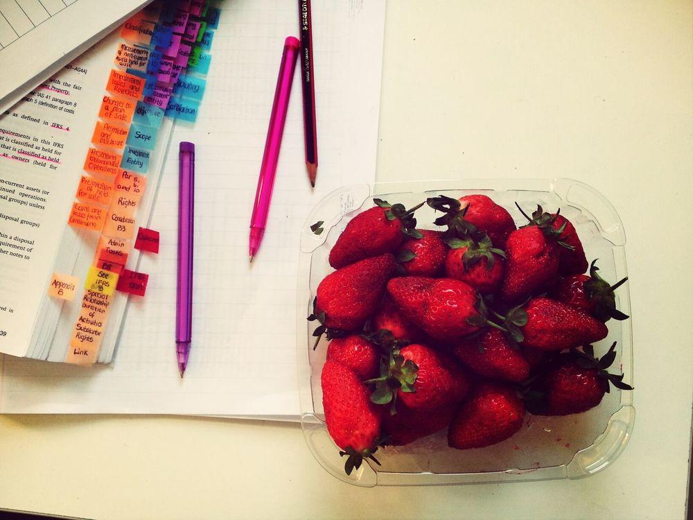 How I study Strawberries Financialaccounting