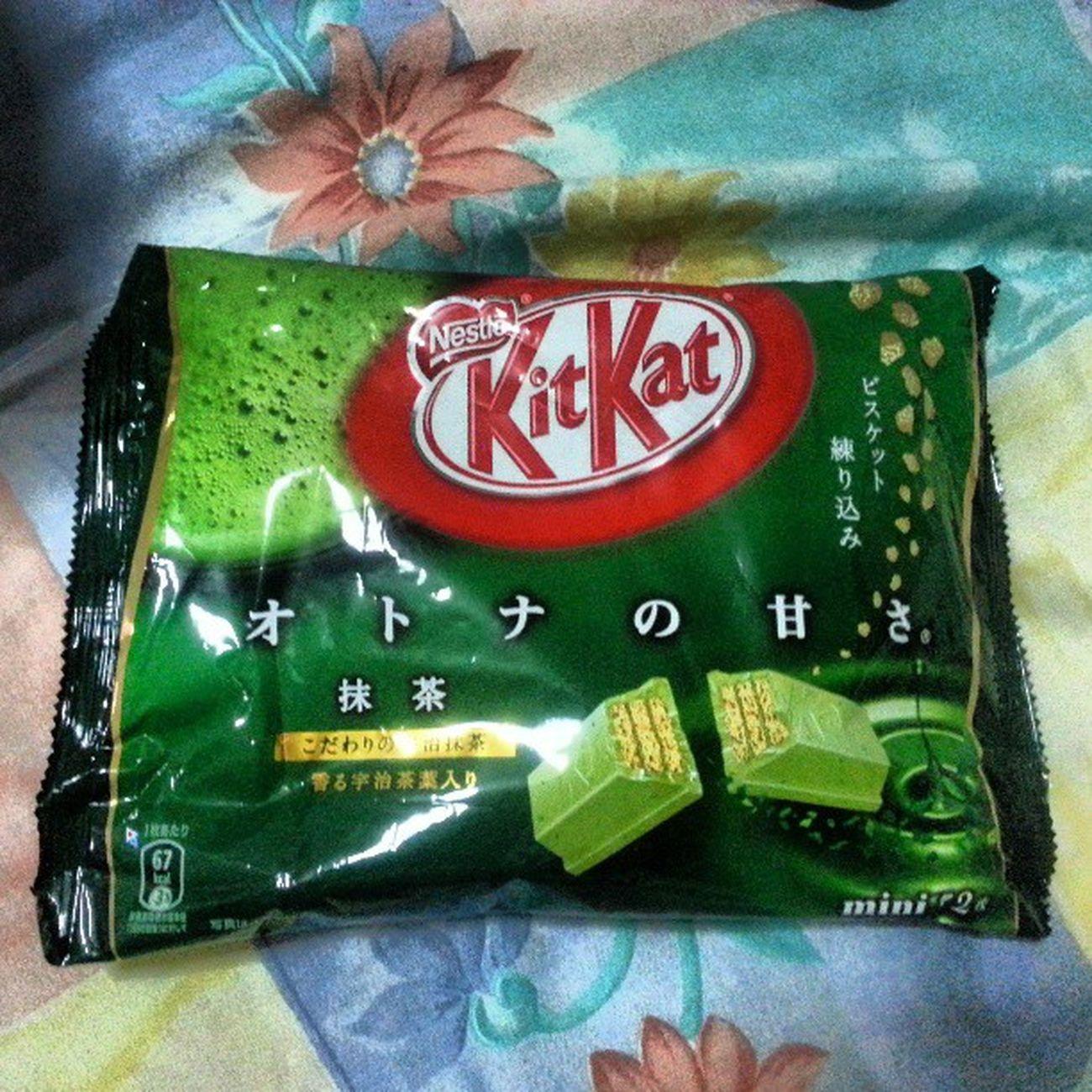 Kitkat Greenteakitkat Chocolate