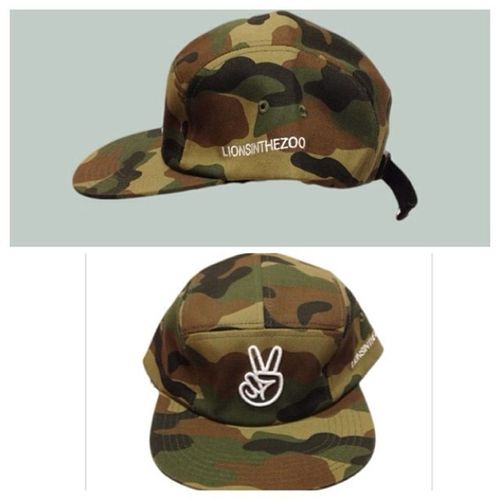 Selling a camo SnapBack for 22 bucks receive 10% off when you enter the promo code: Erica2014 Snapback Lionsinthezoo Camo Peace