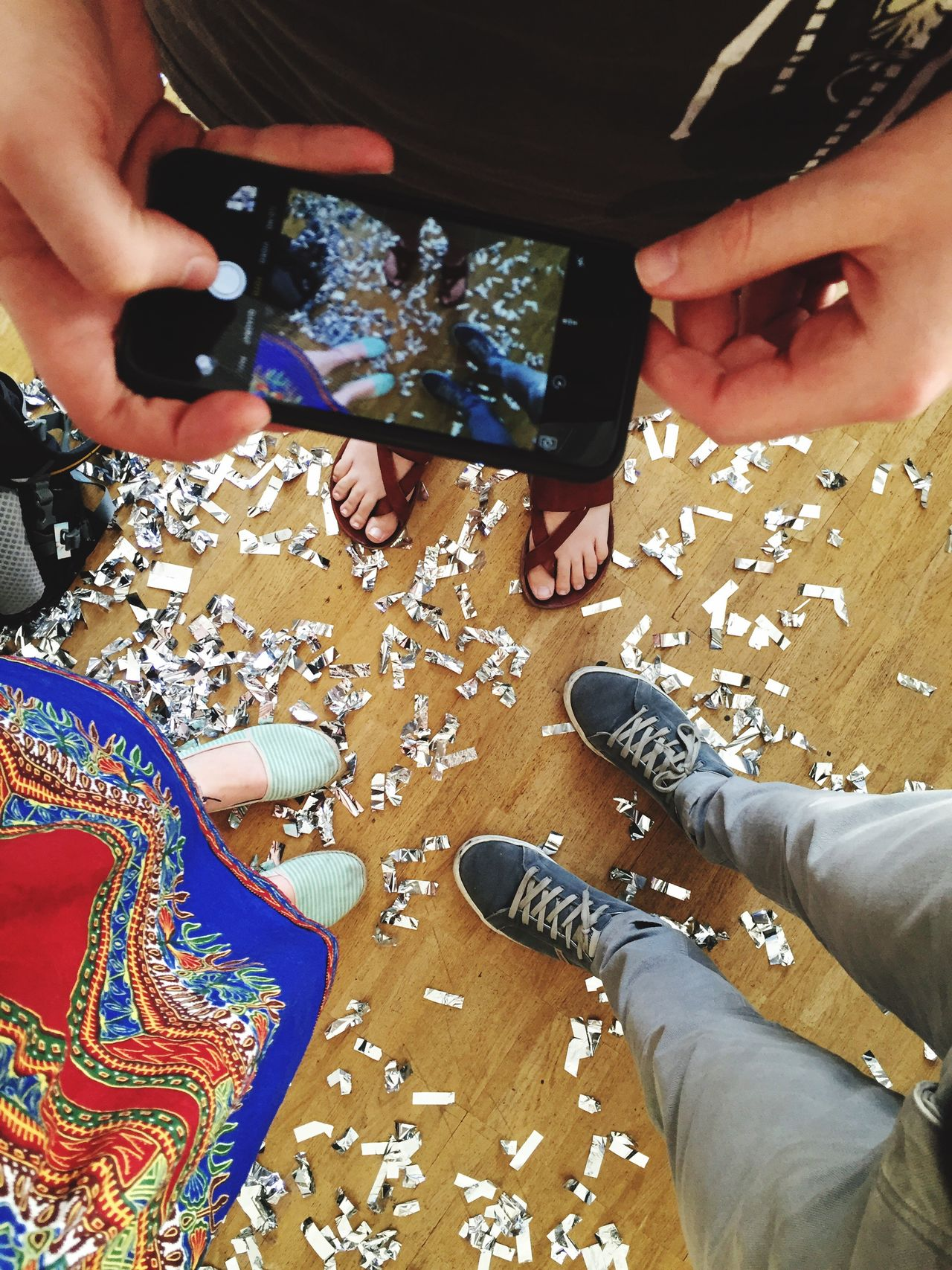 Office Happenings The Roll EyeEm Apps Launch Party Eyeem Studio Kreuzberg Confetti Party Photos Of Photos Taking Photos