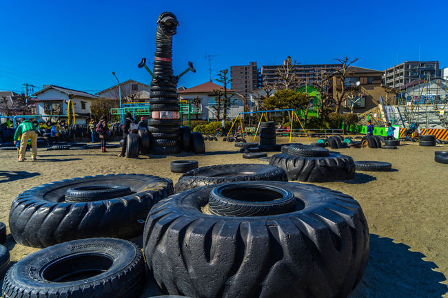 Tire Park Park Light And Shadow Clouds And Sky People Cityscapes Eye4photography  EyeEm Best Shots Landscape Landscape_Collection Landscape_photography