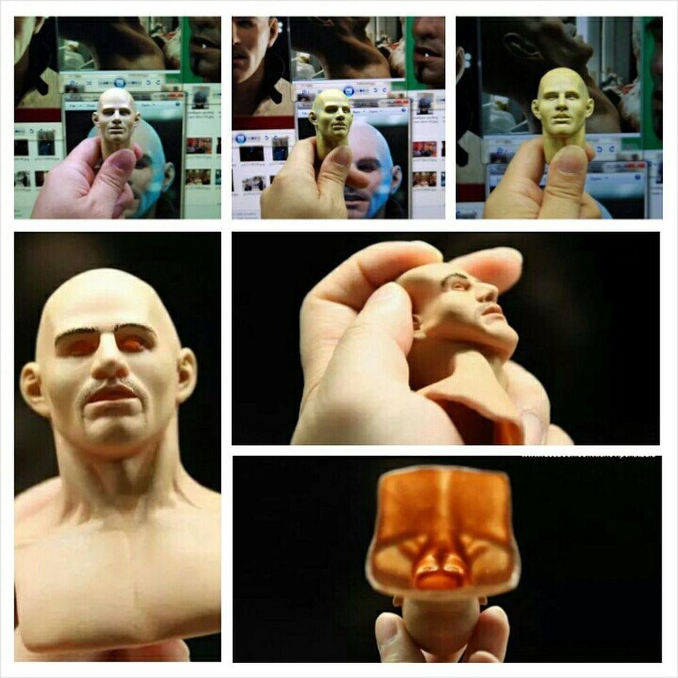 Headsculpt Actionfigure Hottoys Hot Toys Xenoviper Drive Stuntmanmask Sculpture